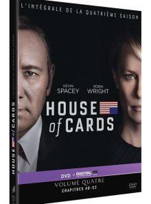 House of cards - saison 4 - dvd + copie digitale