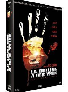 La colline a des yeux 1 + 2 - édition 40ème anniversaire - blu-ray + dvd + livre