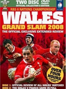 Wales grand slam 2008 official review - collectors edition
