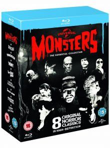 Universal monsters : the essential collection (blu-ray)