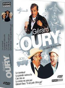 Gérard oury, le maître de la comédie - coffret 4 dvd