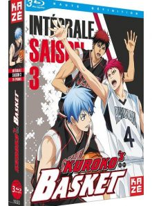 Kuroko's basket - intégrale saison 3 - blu-ray