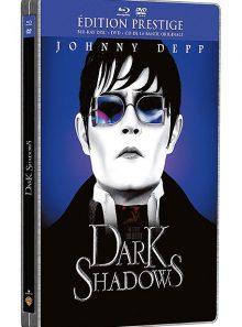 Dark shadows - édition prestige boîtier steelbook - combo blu-ray + dvd + copie digitale