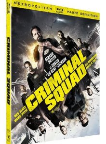 Criminal squad - blu-ray