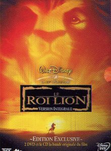 Le roi lion - édition exclusive