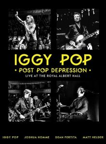 Iggy pop : post pop depression live at the royal albert hall - dvd + cd