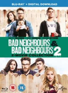 Bad neighbours / bad neighbours 2 (double pack) [blu-ray] [2015]