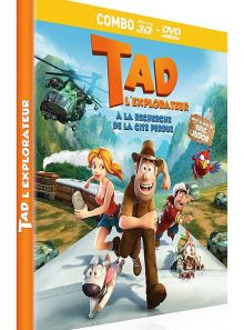 Tad l'explorateur : à la recherche de la cité perdue - combo blu-ray 3d + dvd