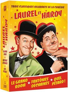 Laurel & hardy - 3 films - pack