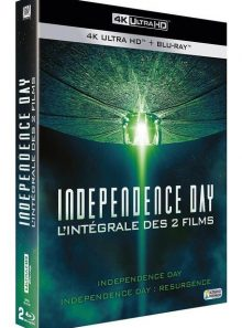 Independence day + independence day : resurgence - 4k ultra hd + blu-ray + digital hd