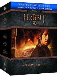 Le hobbit - la trilogie - version longue - blu-ray 3d + blu-ray + dvd + copie digitale