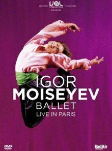 Igor moiseyev ballet : live in paris