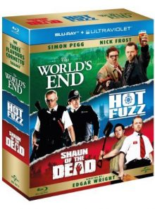 The three flavours cornetto trilogy [blu-ray] [region free]