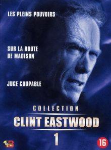 Collection clint eastwood coffret 1 - les pleins pouvoirs - sur la route de madison - jugé coupable