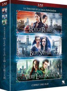 Rouge rubis + bleu saphir + vert émeraude - blu-ray