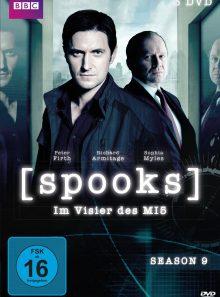 Spooks - im visier des mi5, season 9 (3 discs)