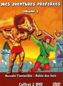 Coffret mes aventures préférées vol 3 - 2 dvd