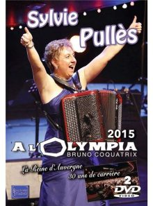 Sylvie pulles : dvd olympia 2015