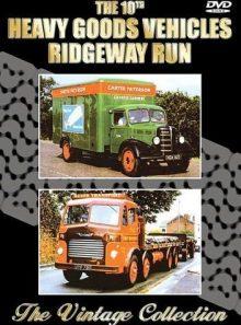 The 10th annual heavy goods vehicle ridgeway run