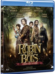 Robin des bois, la véritable histoire - blu-ray