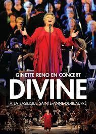 Ginette reno en concert divine - a la basilique sainte-anne de beaupré