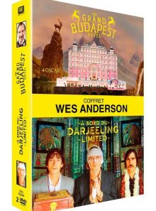 Wes anderson : the grand budapest hotel + a bord du darjeeling limited - pack