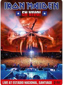 Iron maiden - en vivo! : live at estadio nacional, santiago - édition limitée boîtier steelbook
