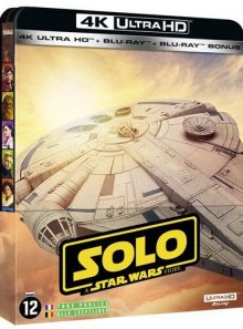 Solo : a star wars story - édition steelbook 4k ultra hd + blu-ray + blu-ray bonus