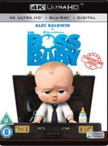 Boss baby 4k uhd bluray digital hd uv