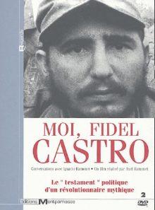 Moi, fidel castro - coffret 2 dvd
