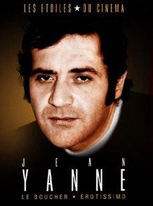 Les etoiles du cinema : jean yanne - le boucher + erotissimo - pack