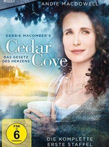 Cedar cove - das gesetz des herzens: die komplette erste staffel (4 discs)