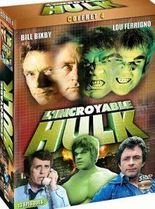 L'incroyable hulk - coffret 4