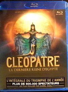 Cleopatre la derniere reine d'egypte - le spectacle musical de kamel ouali - blu-ray