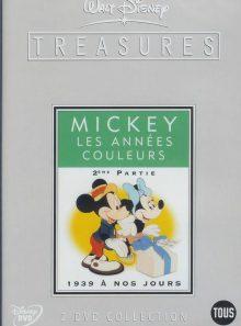 Mickey mouse, les années couleur - 2ème partie : de 1939 à nos jours - édition collector - edition belge