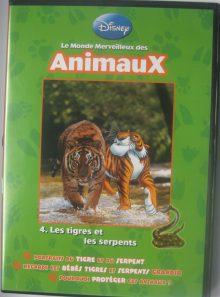 Le monde merveilleux des animaux vol 4 tigres et serpents