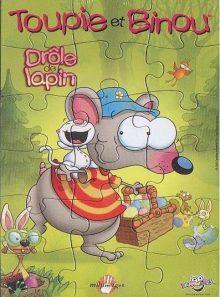 Toupie et binou, drôle de lapin