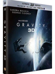 Gravity - combo blu-ray 3d + blu-ray 2d