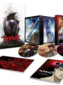 Berserk : l'âge d'or - 3 films - collector a4- coffret dvd + blu-ray