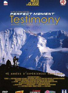 Nuit de la glisse - perfect moment : testimony