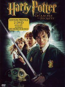 Harry potter et la chambre des secrets - édition prestige