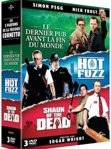 La trilogie cornetto : le dernier pub avant la fin du monde + hot fuzz + shaun of the dead - pack