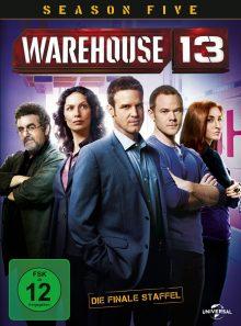 Warehouse 13 - season five: die finale season (2 discs)