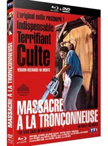 Massacre à la tronçonneuse - version restaurée 4k - blu-ray