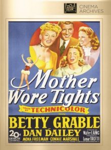 Mother wore tights (on demand dvd-r)