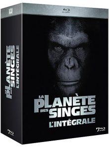La planète des singes : l'intégrale 7 films - blu-ray