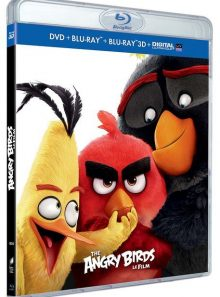 Angry birds - le film - combo blu-ray 3d + blu-ray + dvd + copie digitale