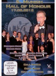 5. munich hall of honour 2012: gala dinner, budo show & hall of honour