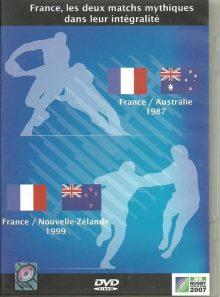 Coupe du monde de rugby 2007 - france les 2 matches mythiques