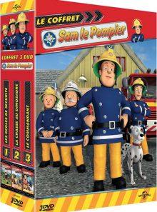 Le coffret sam le pompier : volumes 1 à 3 - pack